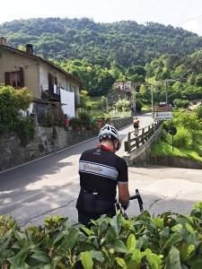 Ghisallo Anstieg, Bellagio
