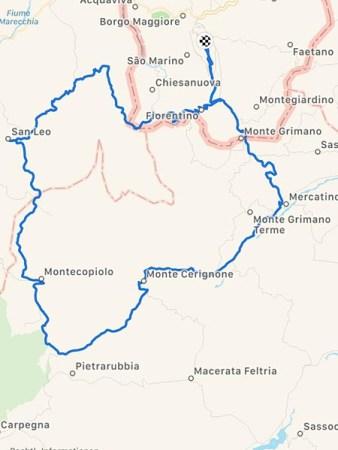 Rennradurlaub in SanMarino