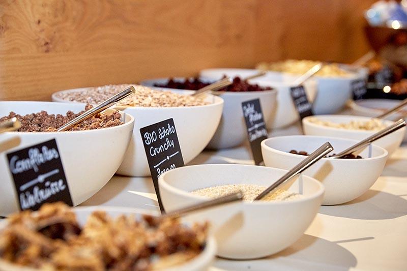 Frühstück im Das Sieben Hotel
