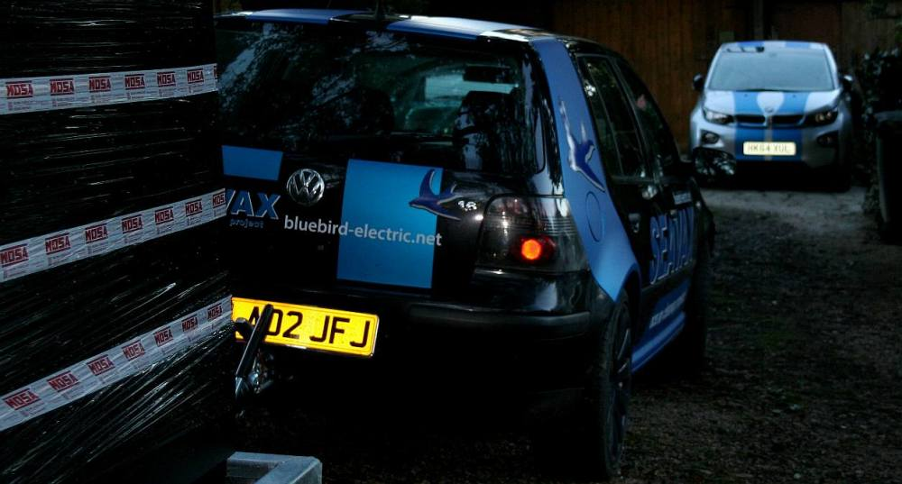 medium resolution of vw golf hitched to a 20kva diesel generator set