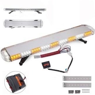 Escoltas Led Para Gruas Color Blanco Con Naranja