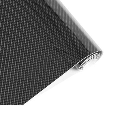 Vinilo Adhesivo Fibra Carbón Negro 5D