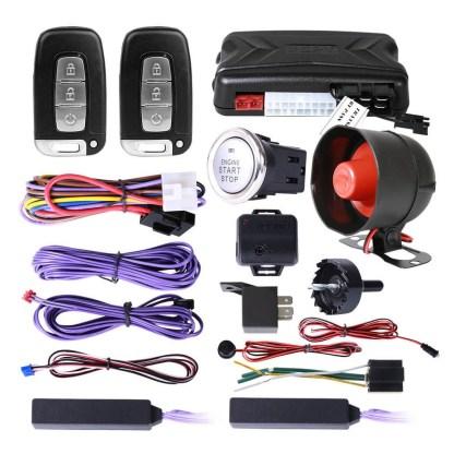 Alarma SPY Para Auto Con Botón De Encendido