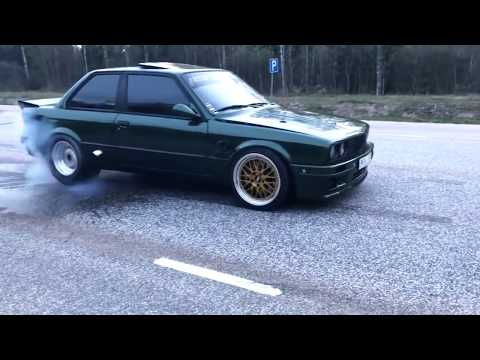 BEST OF BMW E30 – Burnout, Drift, 2step, Exhaust sound – EIGHTY7 CLUB