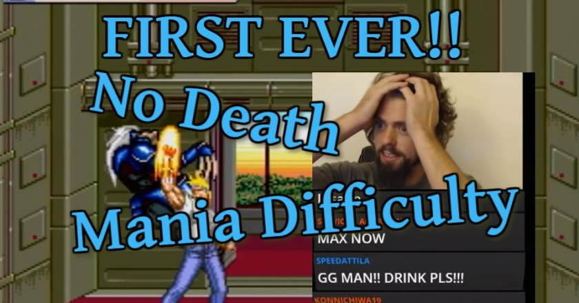 World's First – Streets of Rage 2 – Deathless Mania