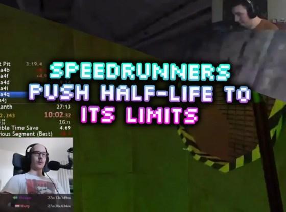 half-life speedruns