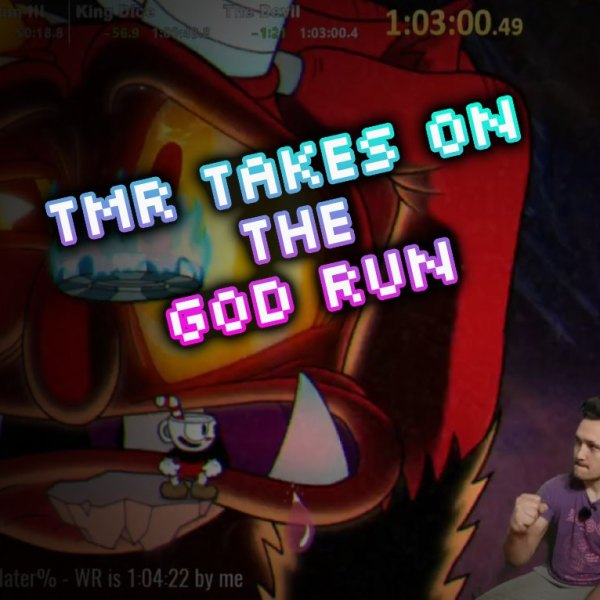 The Mexican Runner Takes on The God Run Challenge in Cuphead