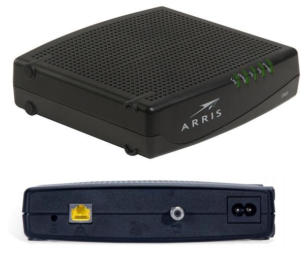 Address Modem Arris Cable Ip