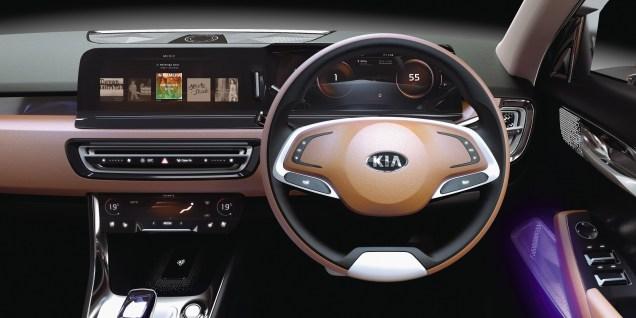 Kia SP Concept Interior