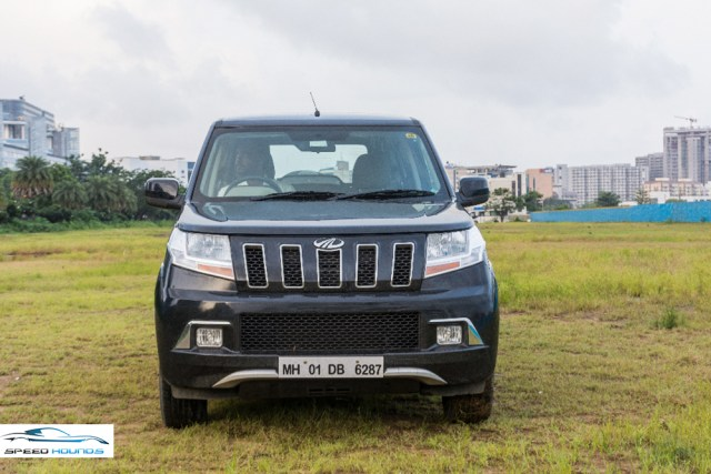 Mahindra TUV300 Plus Review Front