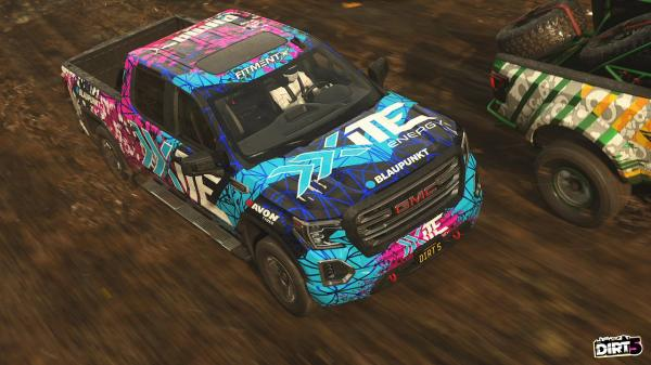 DiRT 5: New cars in the Energy package and free Junkyards Playgrounds package