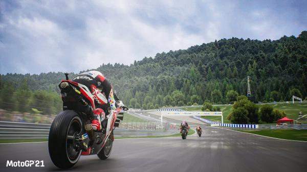 MotoGP 21 is full throttle in spring - information on improvements, trailers and screenshots
