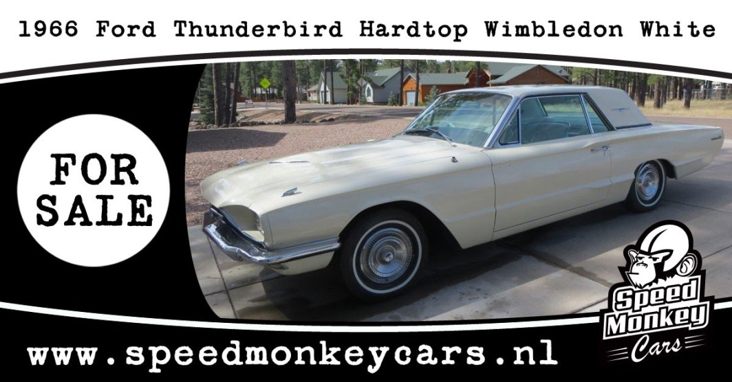 1966 Ford Thunderbird Hardtop Wimbledon White