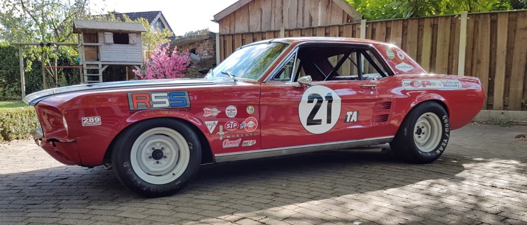 1967 Mustang Trans Am series road race car - Speed Monkey Cars