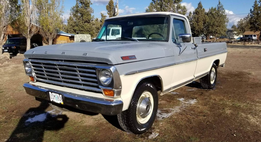 1967 Ford F250 300ci straight six - slide
