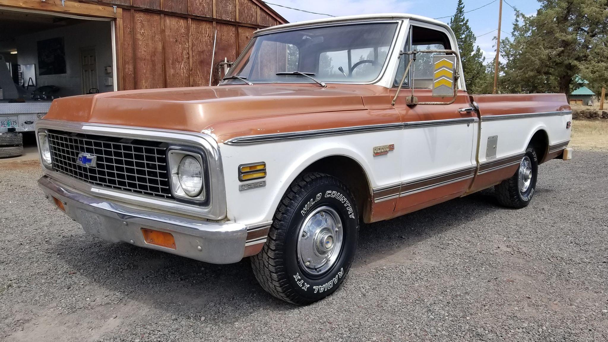 1972 Chevrolet Cheyenne C10 350ci V8