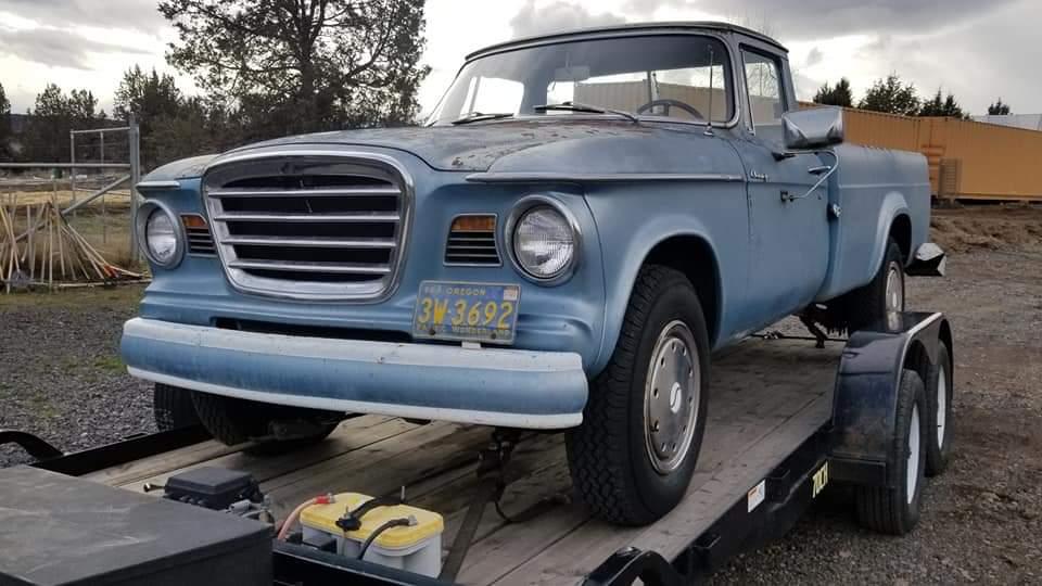 1964 Studebaker Champ Pickup 289ci V8 (1)