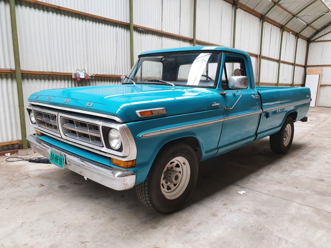 1971 Ford F250 Custom 360ci V8 (1)