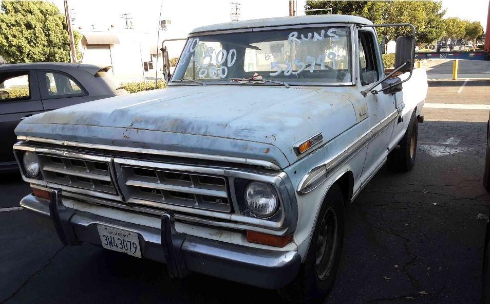 1970 Ford F250 Ranger XLT 390ci