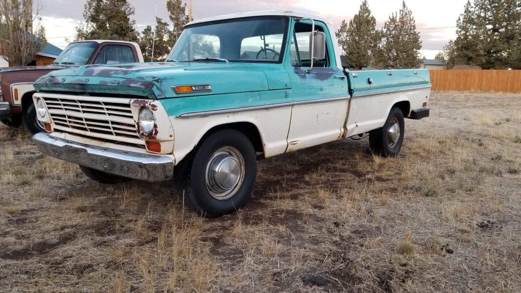 1969 Ford F250 390ci V8 (1)