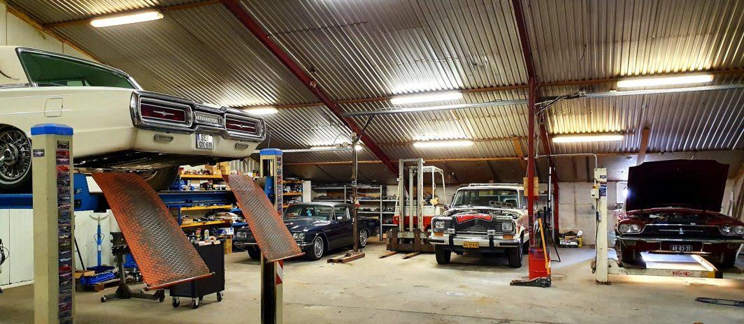 Oldtimer Garage