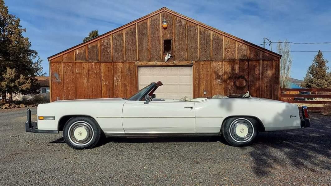 1975 Cadillac Eldorado Convertible with 500ci V8