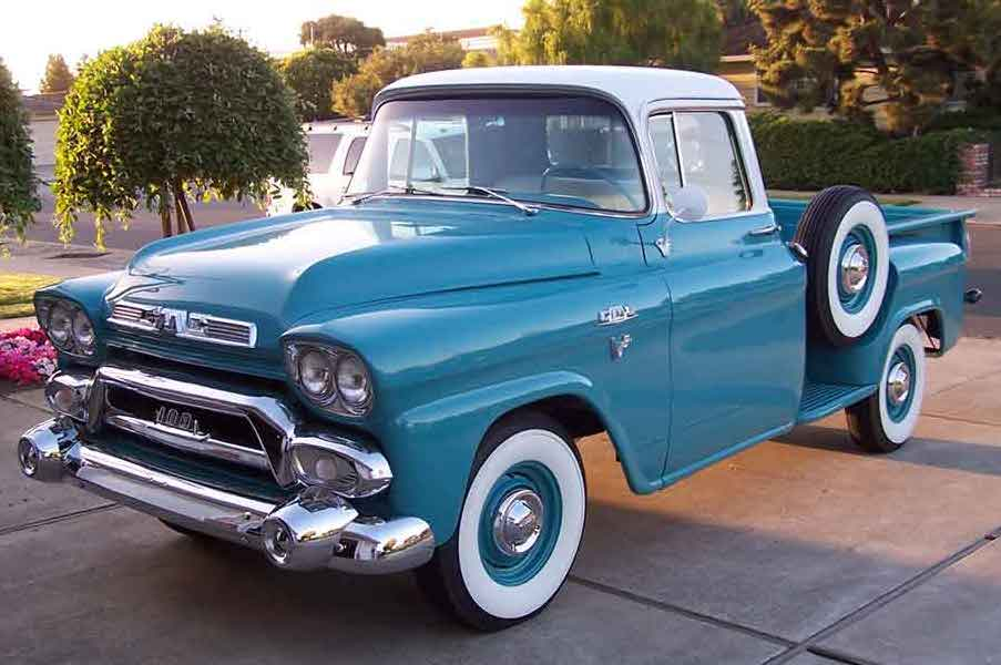 1957 Cars Restored Or Wallpapers Pulp Non Fiction 1958 Gmc Truck Operator S Manual Chevy