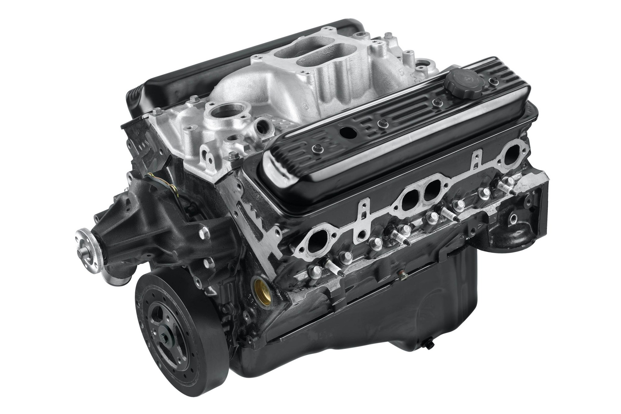 hight resolution of the gm ht383 crate engine from pace is a small package tuned for big torque and a good hi po replacement for third gen c k trucks
