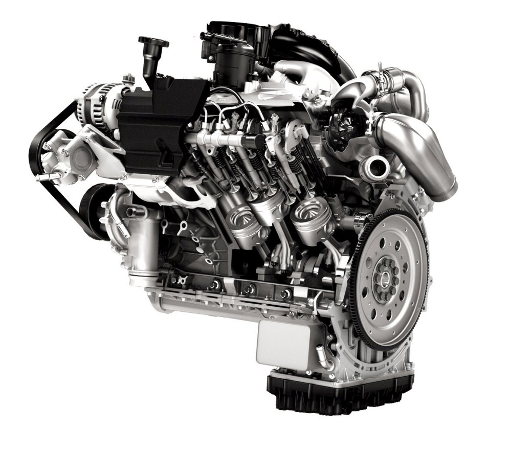 medium resolution of this started with holding down the cylinder heads no longer would they rely on four bolts per cylinder the 6 7 features six bolts per cylinder