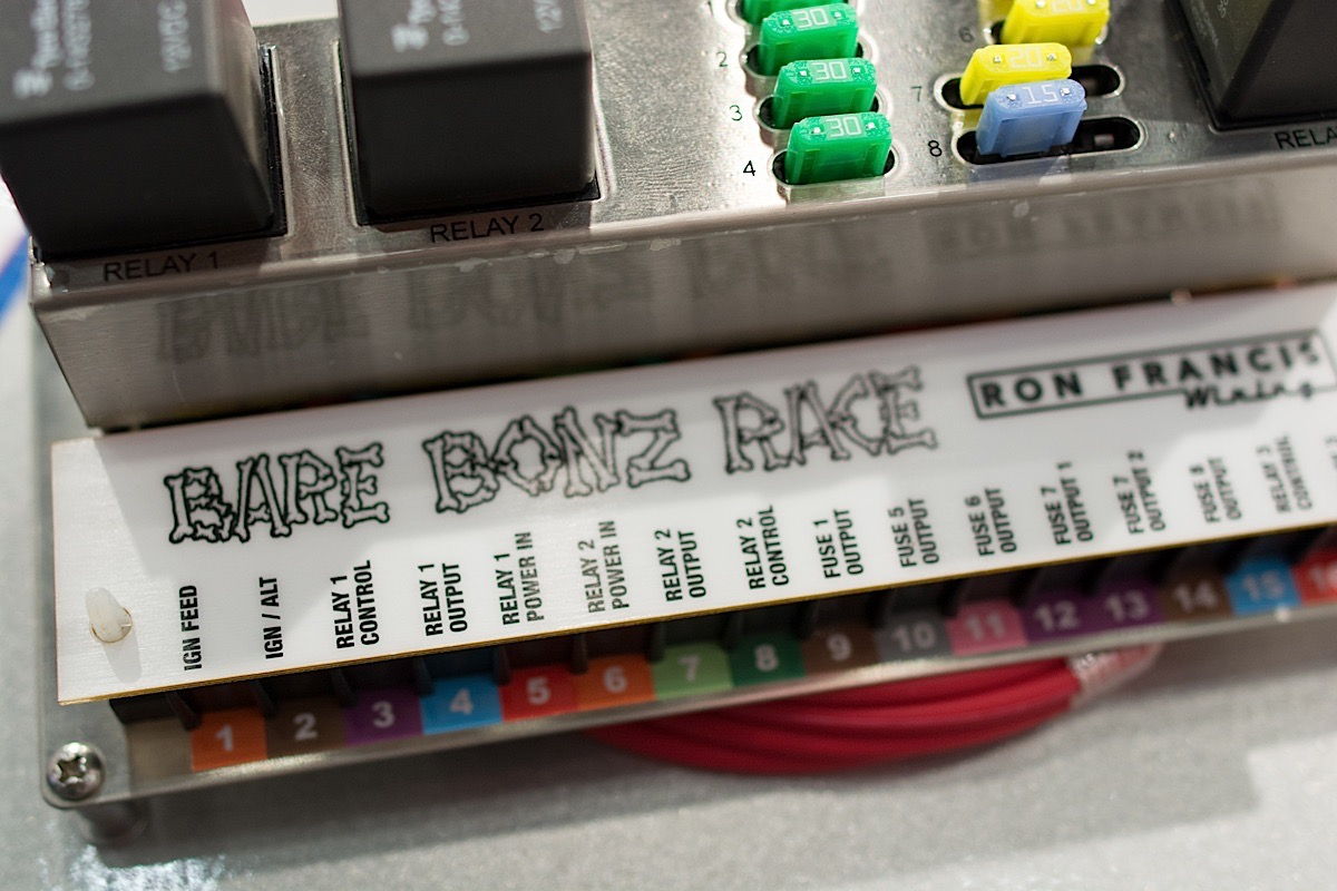 hight resolution of race car fuse box wiring diagram in depth with ron francis new bare bonz