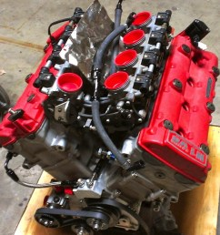 a hartley v8 engine built using hayabusa top end components  [ 1200 x 900 Pixel ]