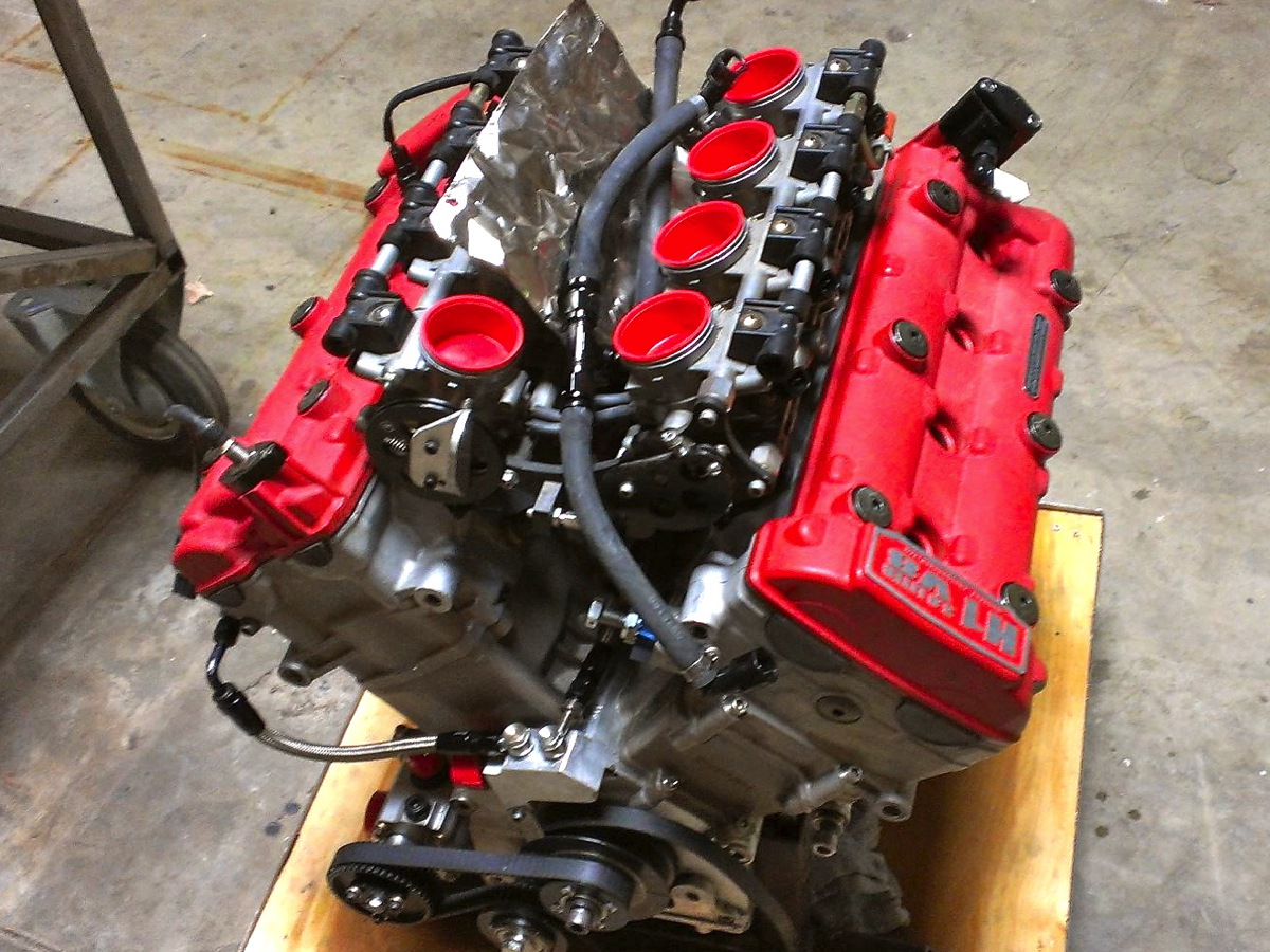 hight resolution of a hartley v8 engine built using hayabusa top end components