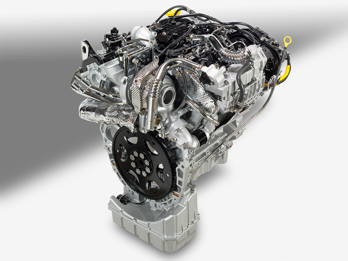 hight resolution of in addition to the engine components being designed to reduce nvh there is also a cover that goes on top of the engine that helps to minimize the audible