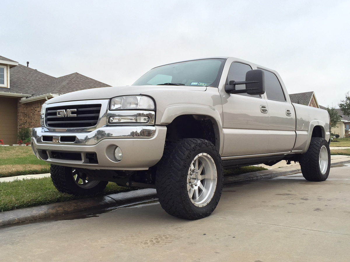 hight resolution of when duramaxdiesels com forum member wicked mayhem decided he wanted a 4wd instead of his 2wd 2006 gmc sierra duramax diesel crewcab short bed