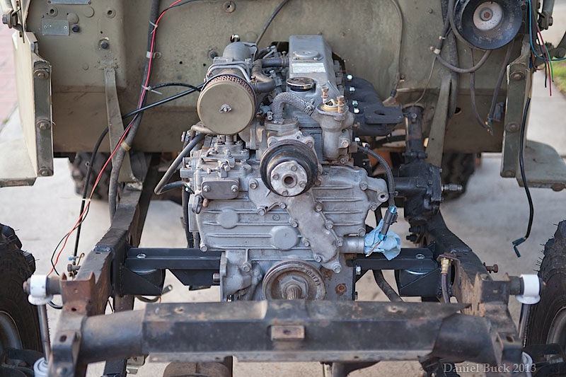 Easy Go Gas Golf Cart Wiring Diagram Diesel Swaps What About A Kubota Here S How It Can Be Done