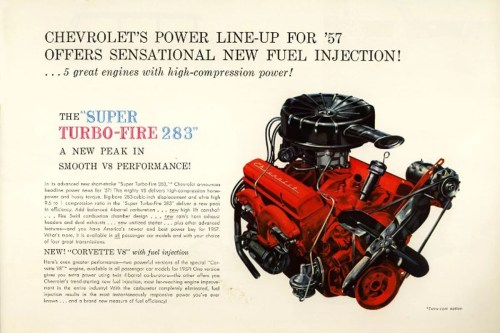 small resolution of it was 1955 when ed cole s chevrolet engineering group got together to build a more powerful engine for the new corvette at the time the corvette s engine