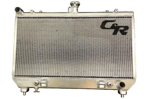 small resolution of c r racing 2010 2012 camaro ss dual core aluminum oe fit radiator