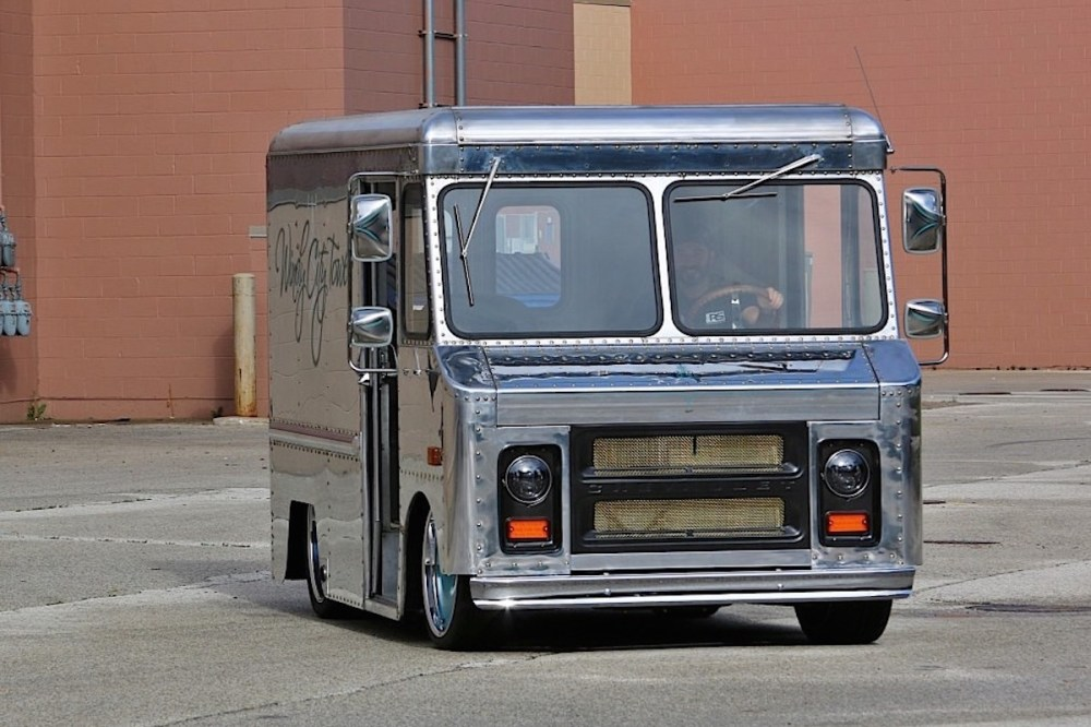 medium resolution of the coolest 1970 chevy p10 step van you u0027ve ever seenwith a good polish