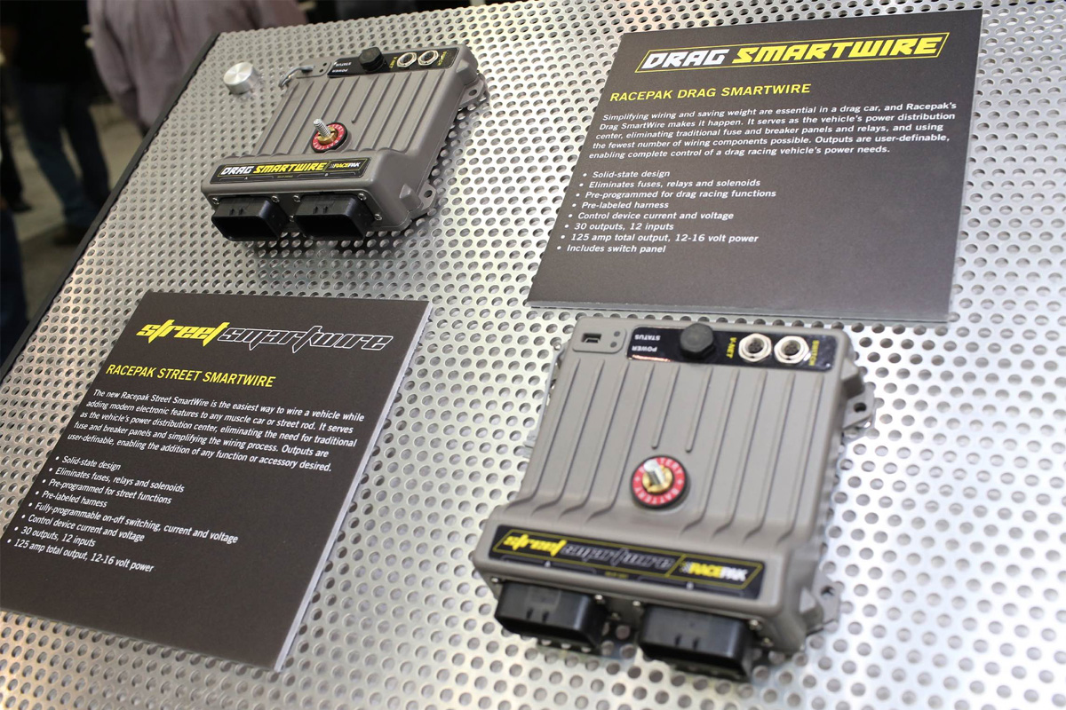 hight resolution of a few years back racepak introduced the smartwire power module which functions as a race car s control center for the vehicle s electrical components