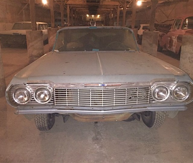 Browsing Ebay We Found An Unfinished Project That Deserves Completion Were Unsure If This Is A Real Ss 409 But This 1964 Chevrolet Impala Can Become A