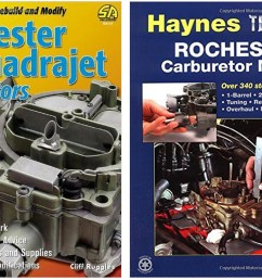 if you are interested in doing some more reading the books rochester carburetors by doug roe and haynes rochester carburetor manual by mike stubblefield  [ 1200 x 744 Pixel ]