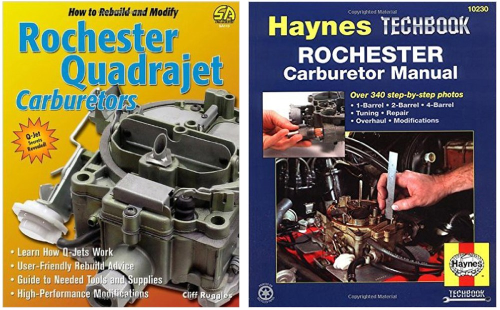 medium resolution of if you are interested in doing some more reading the books rochester carburetors by doug roe and haynes rochester carburetor manual by mike stubblefield