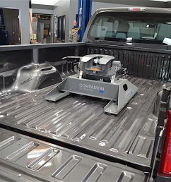 the companion fifth wheel hitch is the key to making our 2016 ford f 350 a purpose built towing rig  [ 1200 x 795 Pixel ]