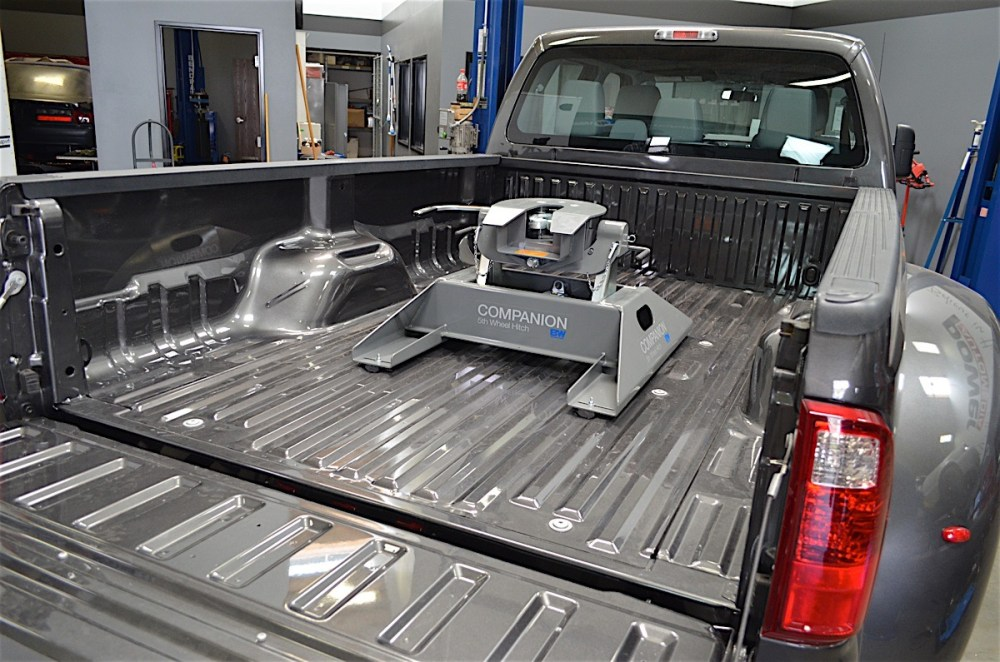 medium resolution of the companion fifth wheel hitch is the key to making our 2016 ford f 350 a purpose built towing rig