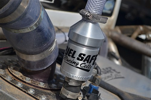 small resolution of another safety feature on a fuel cell is a discriminator valve it is a valve that is attached to the vent hose it will cut off the release of the air when