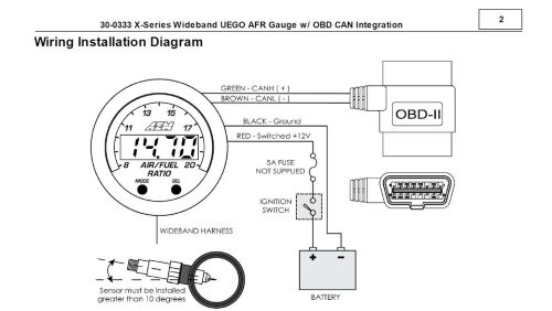 small resolution of tested aem rsquo s new x series obdii wideband w hp tuners on