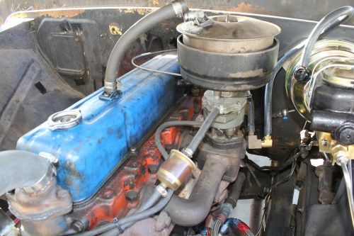 small resolution of this was our starting point a bare bones 261 cubic inch chevy inline six