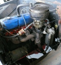 the stock 261 cubic inch jobmaster straight six engine was a low compression low horsepower engine in a day when fuel economy didn t mean much  [ 1200 x 800 Pixel ]