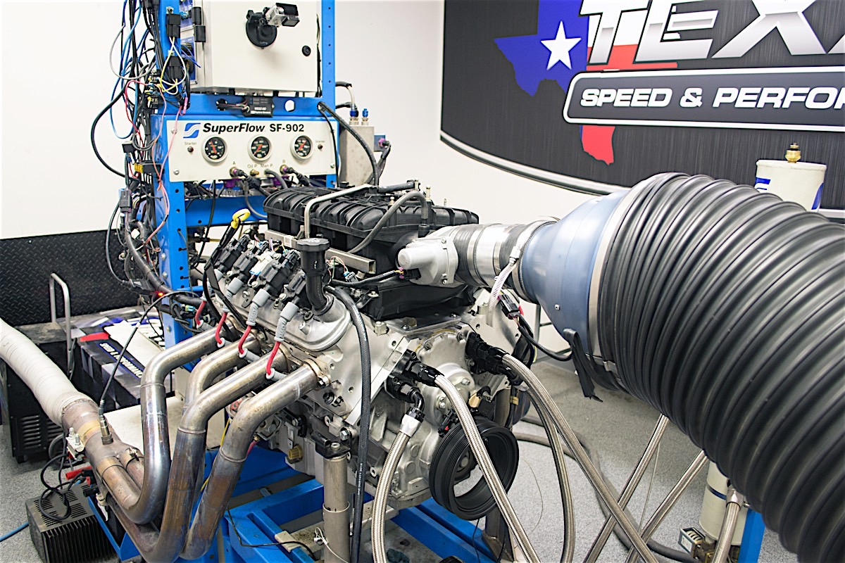 hight resolution of the addition of an andrews camshaft inspection machine allows texas speed to verify the specs on every single camshaft they produce