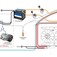 Automotive Electric Fan Wiring Diagram Ford Serpentine Belt 2002 Safely Relay With C Andr Racing